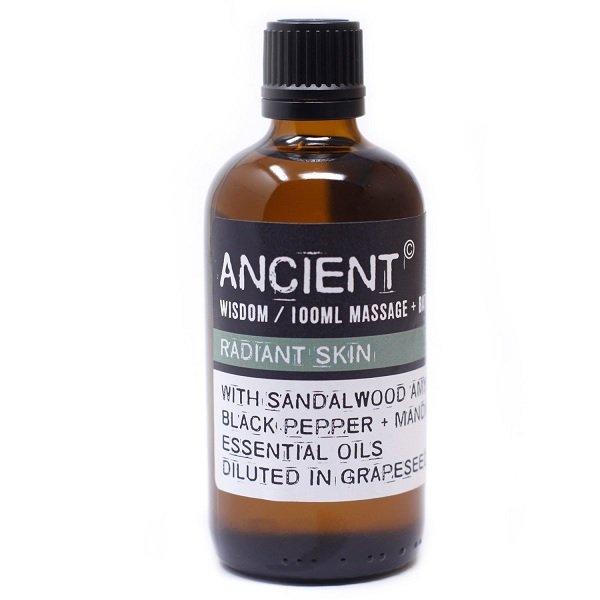 Radiant Skin Sandalwood Glow Massage Oil 100ml