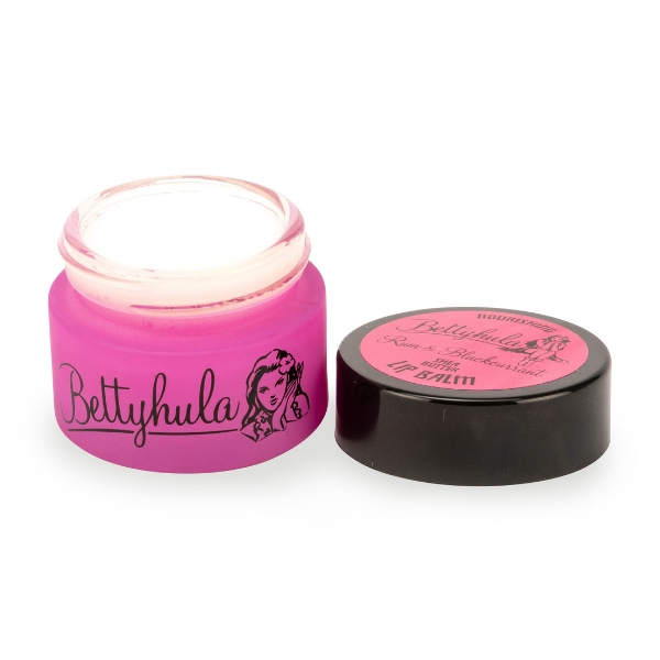 Betty Hula Nourishing lip balm Rum & Blackcurrant top
