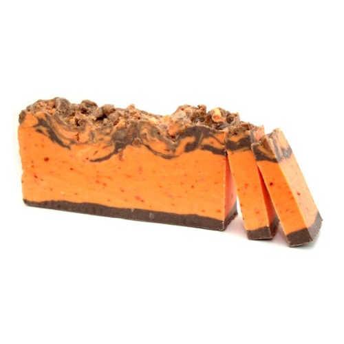 Olive Oil Soap Cinnamon and Orange loaf