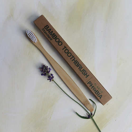 Bamboo Toothbrush Medium to Firm bristles