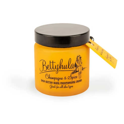 Betty Hula Shea Butter Body Moisturiser Champagne & Spice