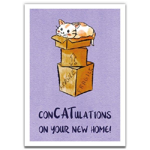 New Box - Eco-Friendly Greeting Card