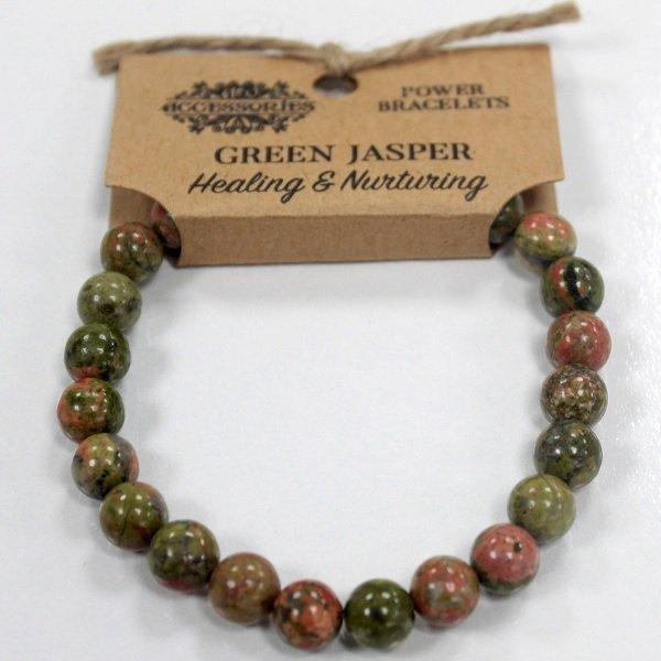 Green Jasper Bracelet - Healing and Nurturing