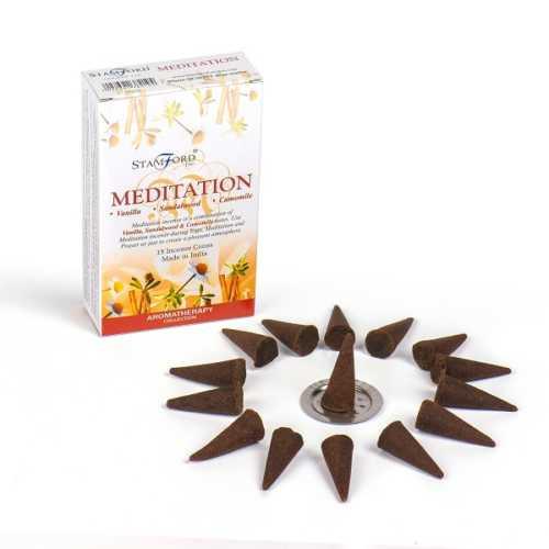 Stamford Premium Incense Cones - Meditation