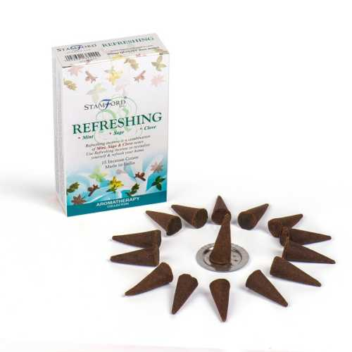 Stamford Premium Incense Cones - Refreshing