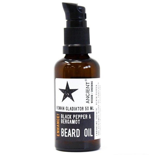 Beard Oil - Roman Gladiator - Enhance 50ml