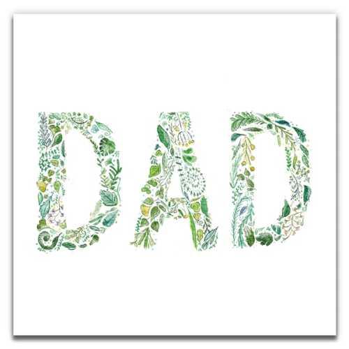 Green Dad - Eco-Friendly Birthday Card