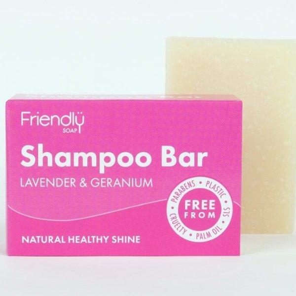 Shampoo Bar 95g - Lavender and Geranium