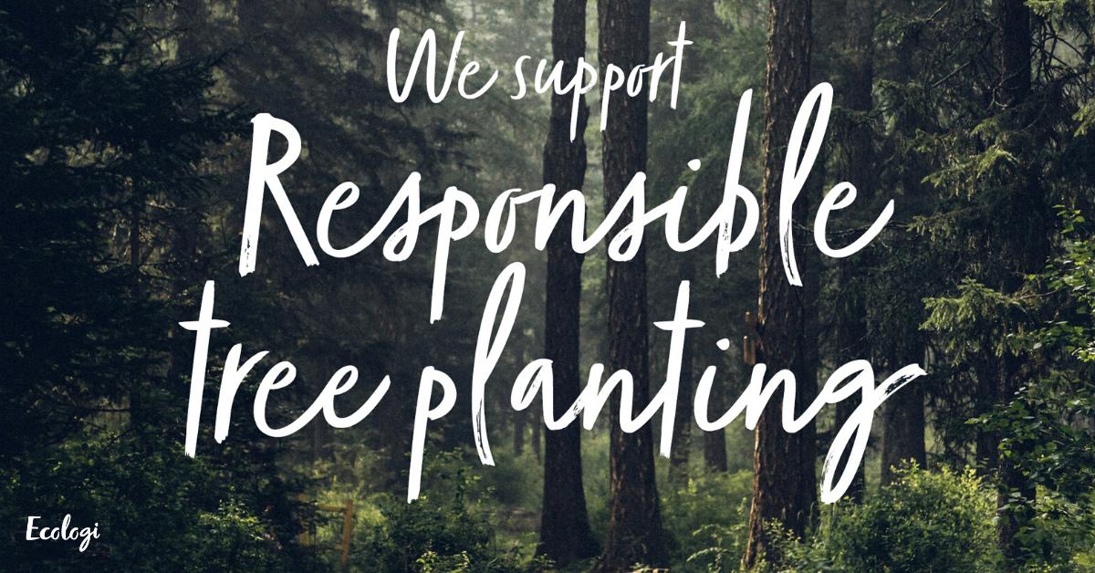 Ecologi responsible tree planting