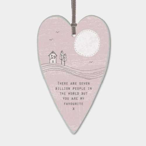 Heart tag-Seven billion people