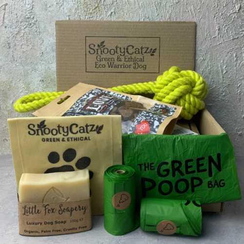 Eco Warrior Dog Gift Set - Ball