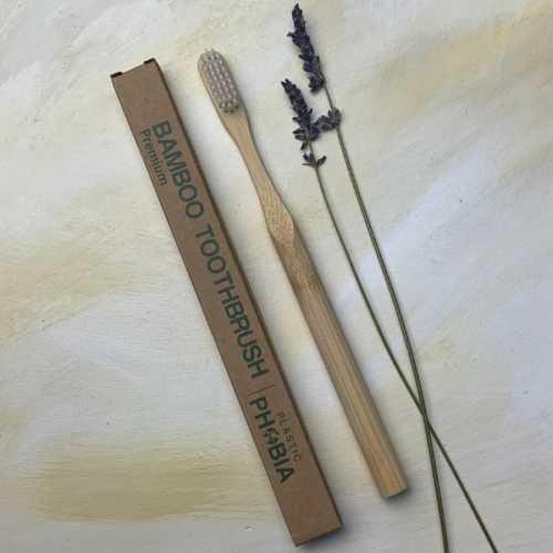 Bamboo Toothbrush Premium