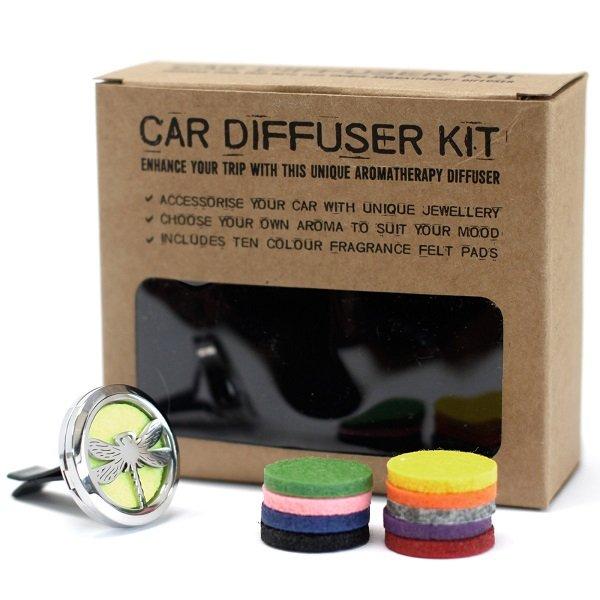 Car Diffuser Kit - Dragonfly boxed