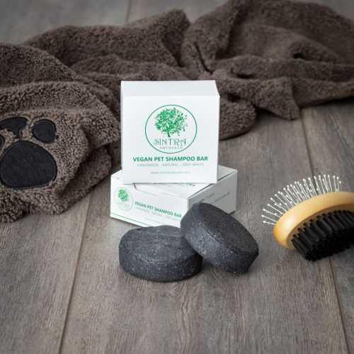 Natural Vegan Cat + Dog Shampoo Bar