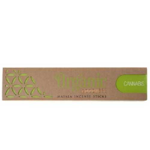 Organic Goodness Incense Sticks - Cannabis