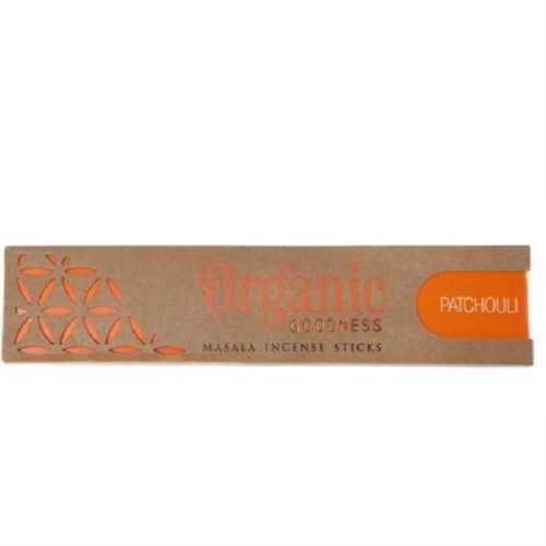 Organic Goodness Incense Sticks - Patchouli