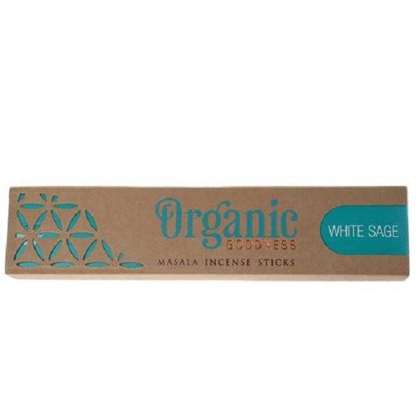 Organic Goodness Incense Sticks - White Sage