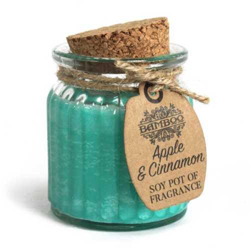 Soy Fragrance Candle - Apple & Cinnamon