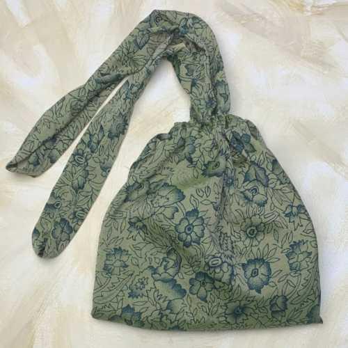 Recycled Sari Shopping Bag