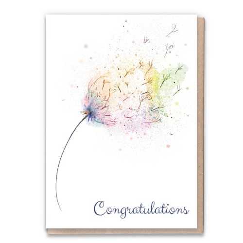 Congratulations - Eco-Friendly Birthday Card