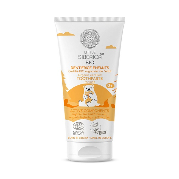 Little Siberica - Toothpaste for Kids with Altai Oblepikha 60g