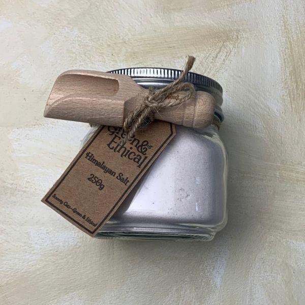Himalayan Salt Jar and Scoop - 250g