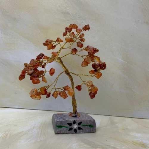 Natural Gemstone Tree Carnelian
