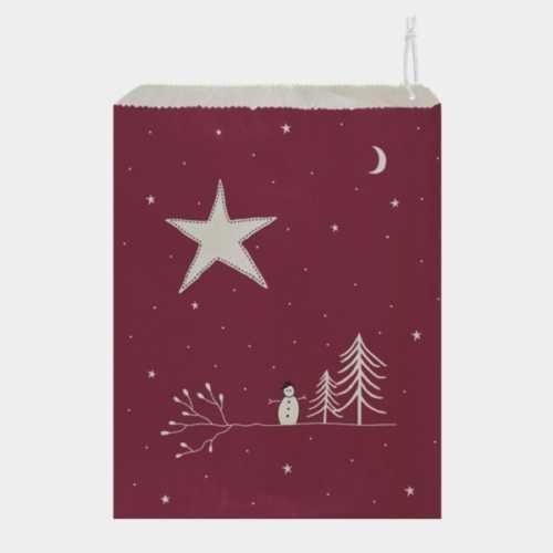 East of India Kraft Gift Bag - Starry Sky