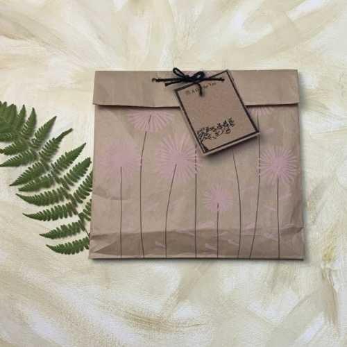 Kraft Gift Bag - Daisies